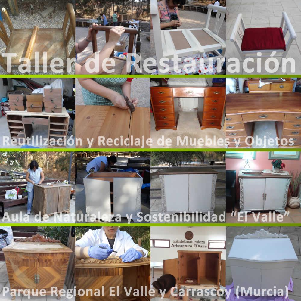Taller de restauraci n naturaleza y sostenibilidad - Tecnicas de restauracion de muebles ...
